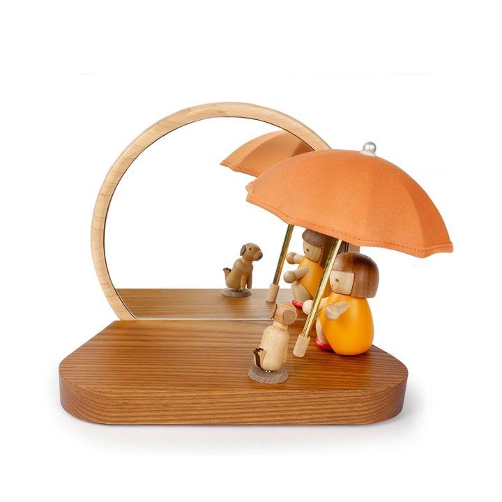 Jean Cultural知音文創 木製家居燈-傘燈鏡