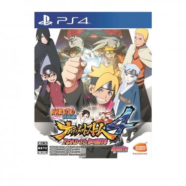 SONY索尼 PS4-火影忍者疾風傳:終極風暴4 慕留人傳 中文版