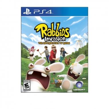 SONY索尼 PS4-瘋狂兔子全面侵略 TV互動遊戲 英文美版