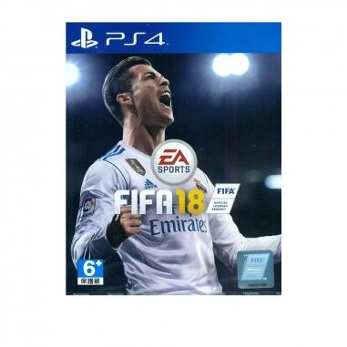 SONY索尼 PS4-國際足球大賽FIFA18 中文版