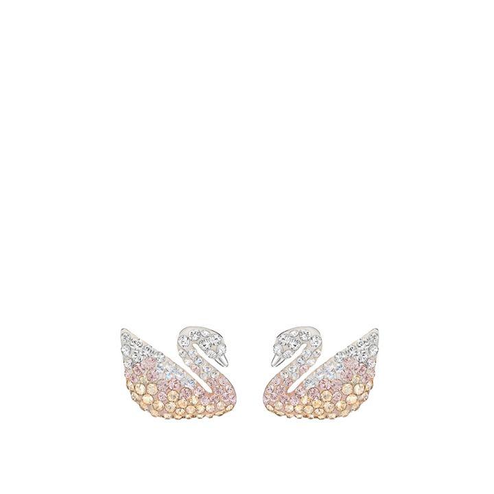 Swarovski施華洛世奇 Iconic Swan 穿孔耳環