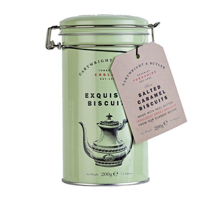 CARTWRIGHT&BUTLERCARTWRIGHT&BUTLER 鹽味焦糖奶油餅乾鐵罐