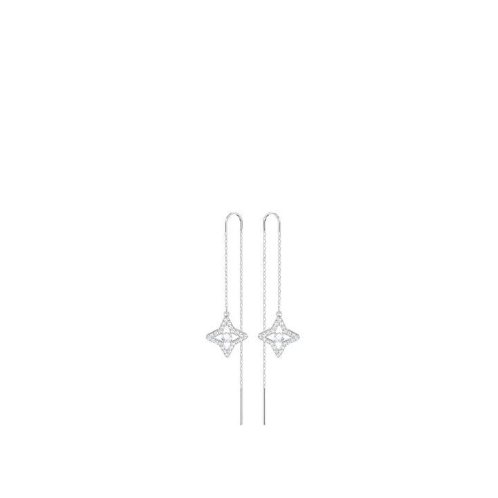 Swarovski施華洛世奇 SPARKLING DANCE STAR 穿孔耳環