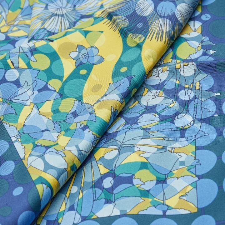 FO SWITCH-BLUE絲巾
