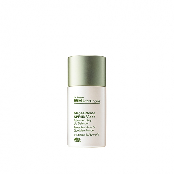 Dr. Andrew Weil for Origins Mega-Defense Advanced Daily UV Defender SPF45/PA++++Dr.WEIL全能防禦隔離霜SPF45/ PA+++