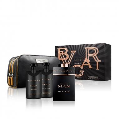 BVLGARI寶格麗(香水) 《聖誕限定》當代真我男士香水收納袋特惠組