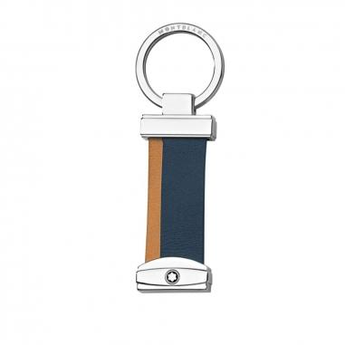 Montblanc萬寶龍(精品) 大師傑作(大班)系列條紋鑰匙扣