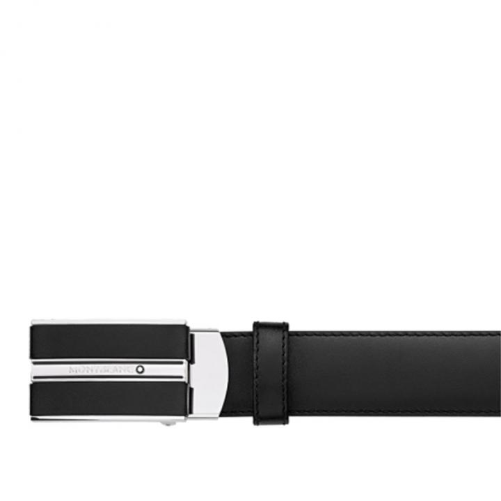 CLASSIC BELTCLASSIC黑色可調尺寸商務皮帶