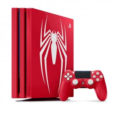 SONY索尼 PS4 PRO漫威蜘蛛人-特仕主機同捆組限量版