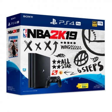 SONY索尼 PS4 Pro NBA 2K19同捆組