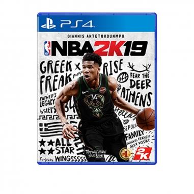 SONY索尼 PS4 NBA 2K19中文版