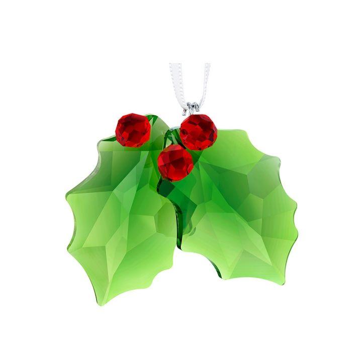 Swarovski施華洛世奇 Christmas聖誕葉吊飾