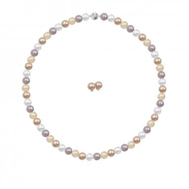 Toscow澳詩蔻 永恆之戀天然色彩養殖珍珠項鏈