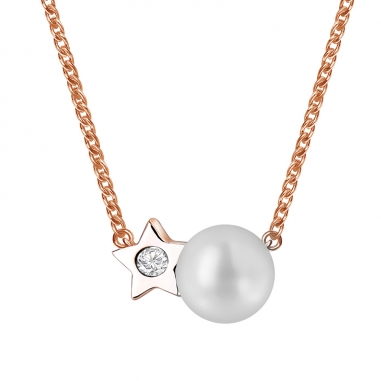 Toscow澳詩蔻 風采迷人淡水養殖珍珠項鏈