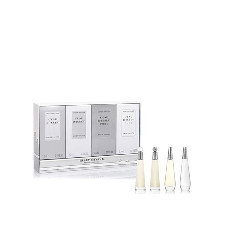 L'Eau d'Issey Pure Eau de Toilette + Eau de Parfum Miniature Set一生之水迷你凝淨香水+淡香水特惠組
