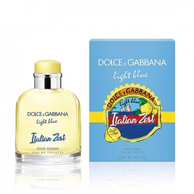 Dolce & Gabbana杜嘉班納 Light Blue Italian Zest淺藍男士限量版香水