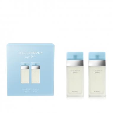 Dolce & Gabbana杜嘉班納 Light Blue淺藍女士淡香水雙瓶特惠組