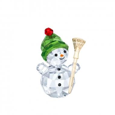 Swarovski施華洛世奇 《聖誕限定》掃帚雪人