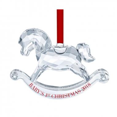 Swarovski施華洛世奇 《聖誕限定》寶寶聖誕掛飾