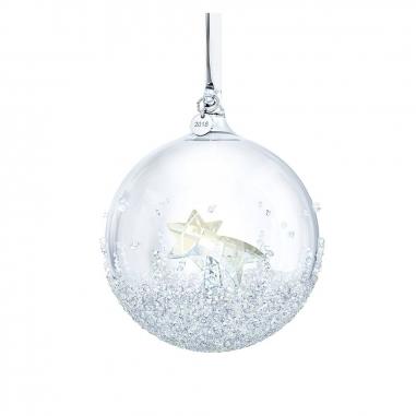 Swarovski施華洛世奇 《聖誕限定》2018聖誕球掛飾