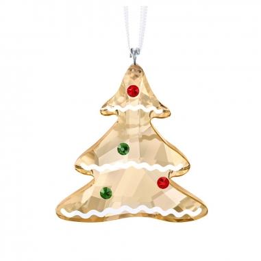 Swarovski施華洛世奇 《聖誕限定》薑餅樹掛飾