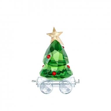 Swarovski施華洛世奇 《聖誕限定》聖誕樹拉車