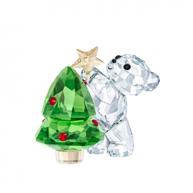 Swarovski施華洛世奇 《聖誕限定》Kris小熊-2018聖誕限量版