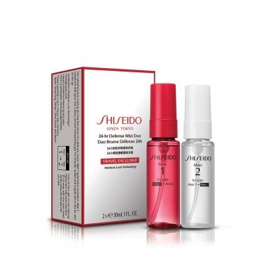 Shiseido資生堂 24小時防護噴霧兩件套組