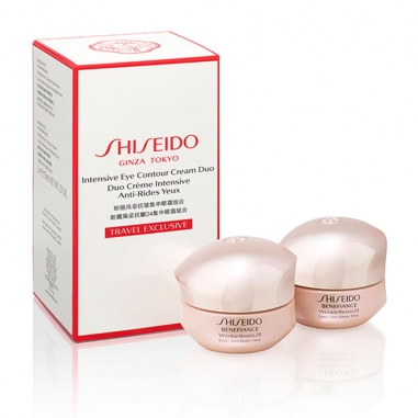 Shiseido資生堂 盼麗風姿抗皺24無痕眼霜兩件特惠組