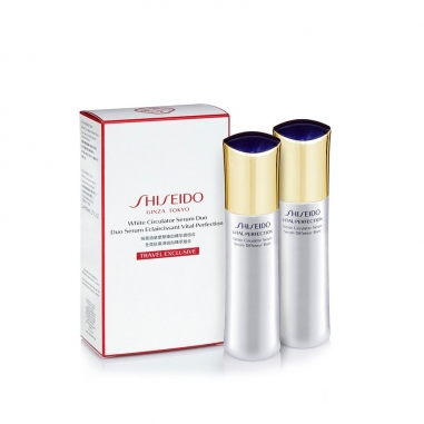 Shiseido資生堂 全效抗痕淨斑白金萃兩件特惠組