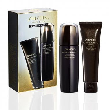 Shiseido資生堂 時空琉璃極上御藏潔膚皂+柔膚露特惠組