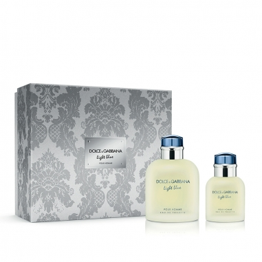 Dolce & Gabbana杜嘉班納 《聖誕限量》Light Blue Pour Homme淺藍男士淡香水聖誕禮盒套組