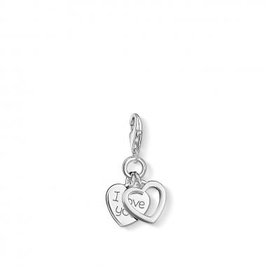 Thomas SaboThomas Sabo I LOVE YOU HEARTS CHARM 吊墜