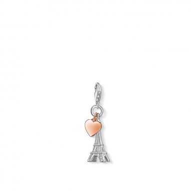 Thomas SaboThomas Sabo EIFFEL TOWER WITH HEART CHARM 吊墜