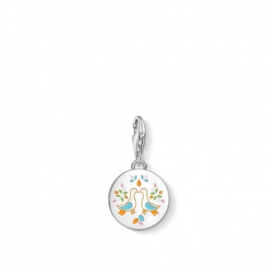 Thomas SaboThomas Sabo MEXICAN DISC DOVES CHARM 吊墜