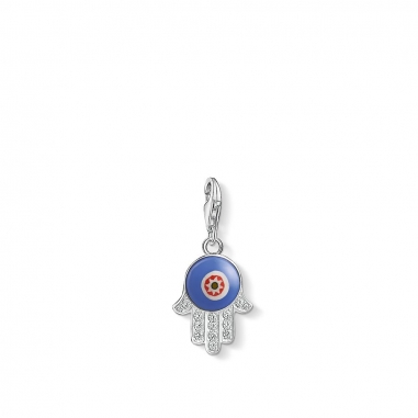 Thomas SaboThomas Sabo BLUE GLASS HAND OF FATIMA CHARM 吊墜