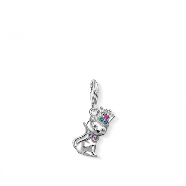 Thomas SaboThomas Sabo CAT WITH CROWN CHARM 吊墜