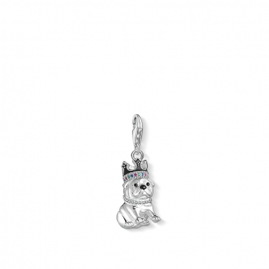 Thomas SaboThomas Sabo BULLDOG WITH CROWN CHARM 吊墜