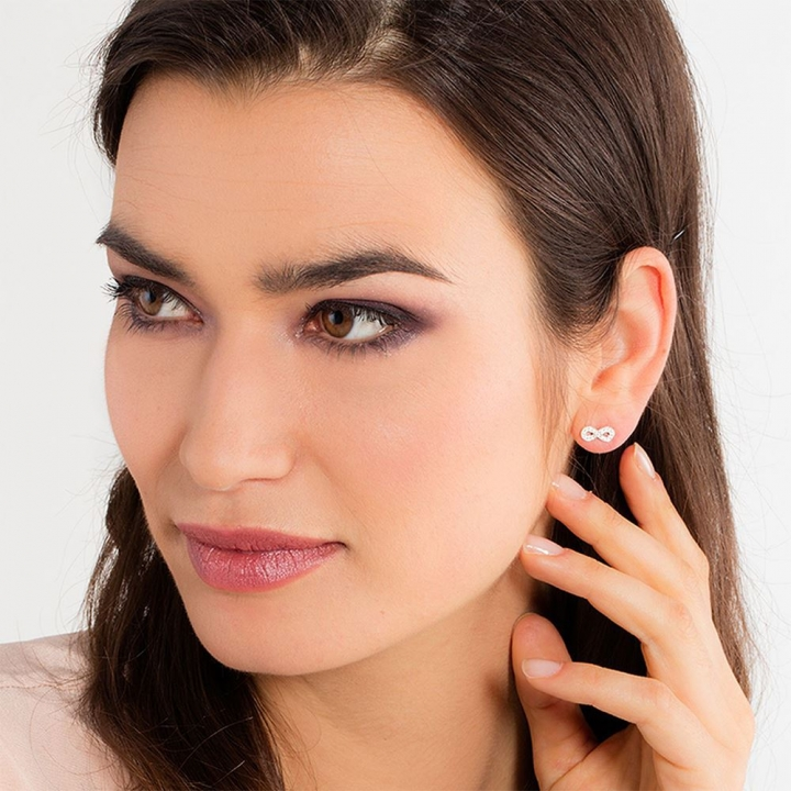 EAR STUDS INFINITYINFINITY 耳釘