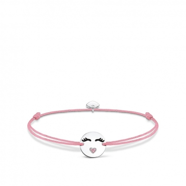 Thomas SaboThomas Sabo LITTLE SECRET EMOTICON WITH HEART-SHAPED MOUTH 手環