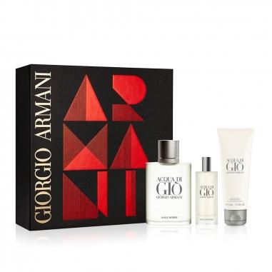 Giorgio Armani阿瑪尼 《聖誕限定》寄情男士香水2018聖誕節套組