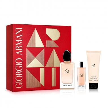 Giorgio Armani阿瑪尼 《聖誕限定》摯愛女士香水2018聖誕節特惠組