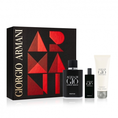 Giorgio Armani阿瑪尼 《聖誕限定》寄情男士香水(典藏版)2018聖誕節套組