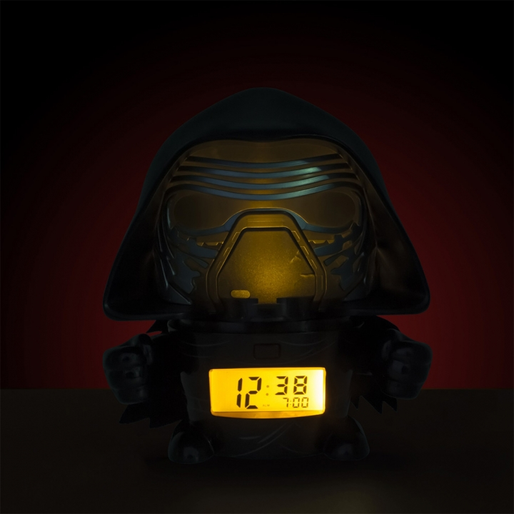 Star Wars Kylo Ren Night Light Alarm Clock(5.5inch)電影原聲夜燈鬧鐘-星際大戰(5.5inch)凱羅忍