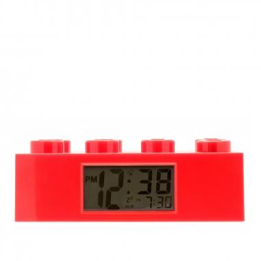LEGO樂高 經典積木鬧鐘系列-鮮紅