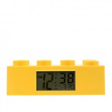 LEGO樂高 經典積木鬧鐘系列-檸黃