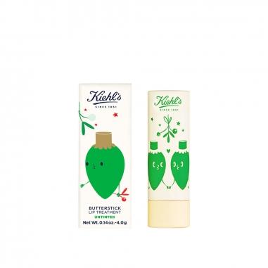 KIEHL'S契爾氏 《聖誕限定》限量版檸檬奶油護唇膏-透明色