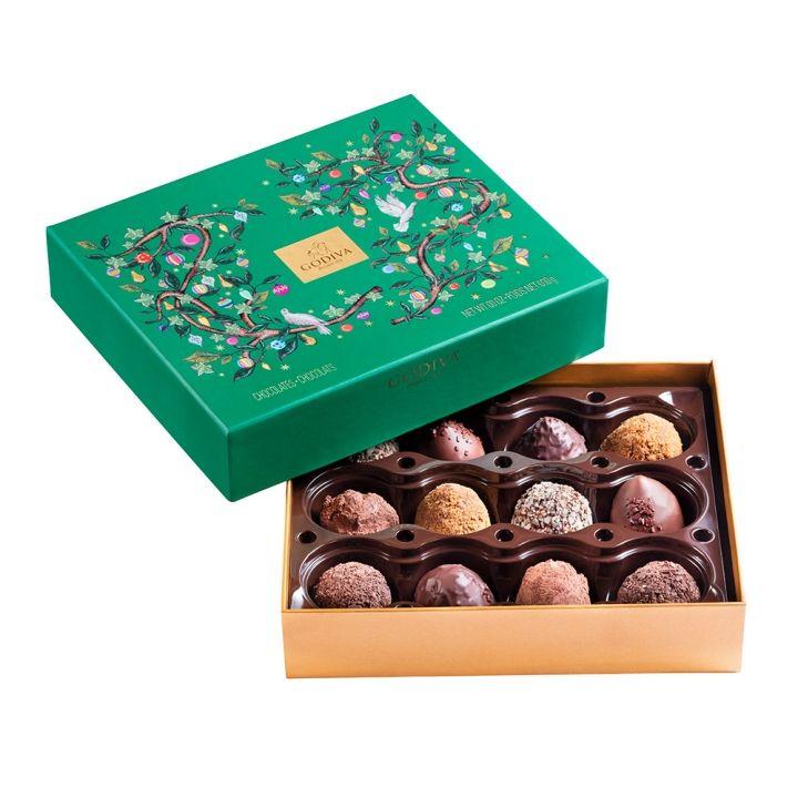 GodivaGodiva 《聖誕限定》聖誕松露巧克力禮盒