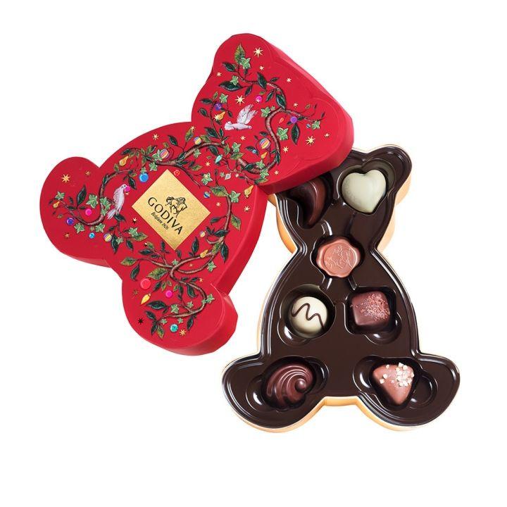 GodivaGodiva 《聖誕限定》聖誕巧克力小熊禮盒