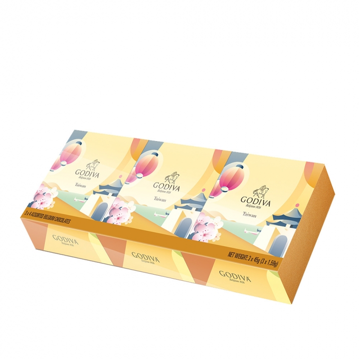 SOUVENIR MULTIPACK TAIWAN台灣風景盒-巧克力